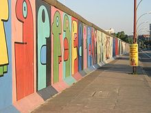 East Side Gallery (Photo Credit: Wikipedia)