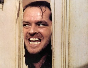 THE SHINING (1980) JACK NICHOLSON SHI 001FOH MOVIESTORE COLLECTION LTD